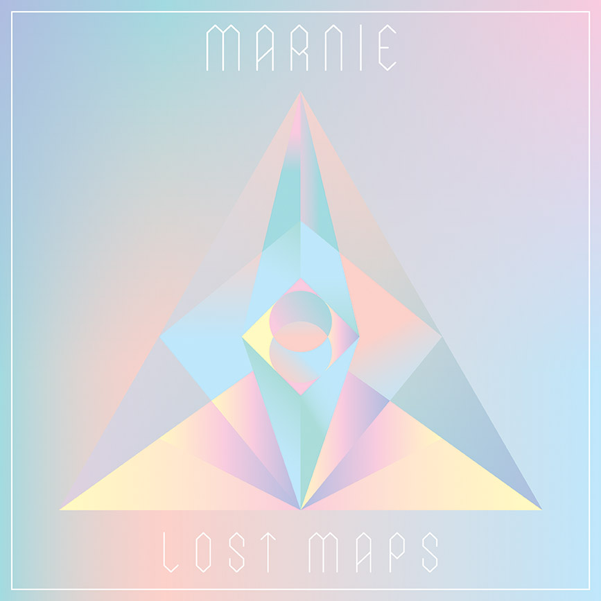 "Marnie's ""Lost Maps"" single sleeve"
