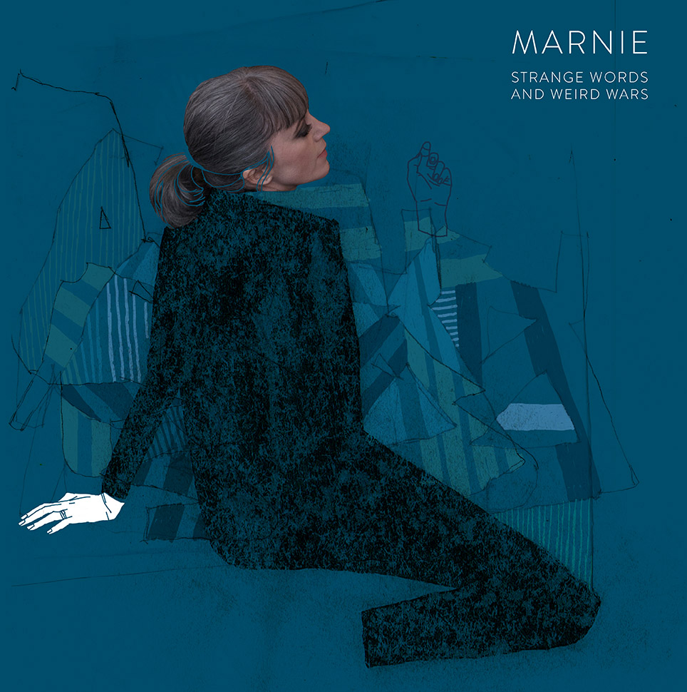 "Marnie's ""Strange Words And Weird Wars"" album cover"