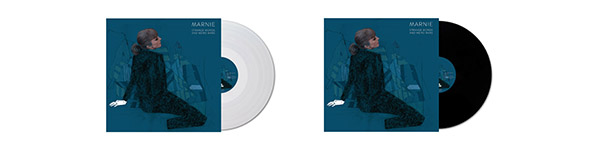 "Marnie's album ""Strange Words And Weird Wars"" ltd ed clear and black vinyl"